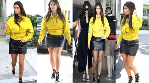 Kim Kardashian admits style mishap