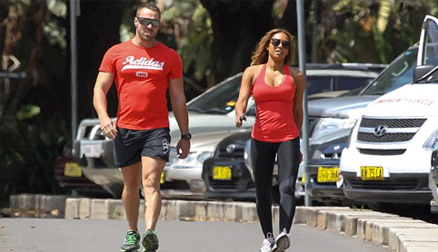 Mel B spices up her life with a gruelling work-out