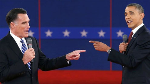 Final stage of Obama-Romney debate to highlight U.S. Middle East role