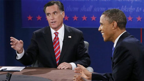 Obama and Romney in final push