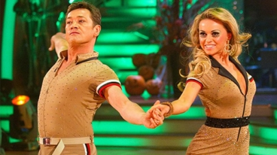 Olla Jordan on Strictly Come Dancing