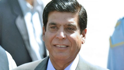 Prime Minister Raja Pervaiz Ashraf