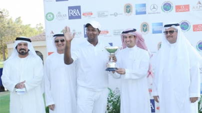 Shafiq Masih of Pakistan wins MENA Golf Event in Riyadh