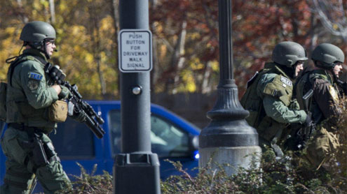 Shooting at spa in Wisconsin: 4 dead, including gunman, police say