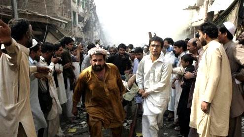 Three injured as blasts rock Peshawar
