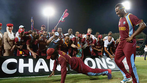 West Indies wins World Twenty20 final