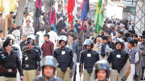 20,000 cops to cope with Muharram security needs