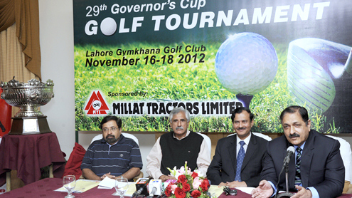 29th Governor's Cup Golf Tournament tees off today