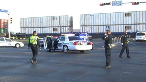 4 killed after train hits truck during Texas parade saluting U.S. troops