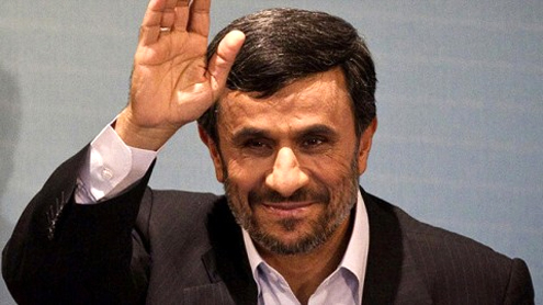 Ahmadinejad roars Iran and Pakistan won't be scared off