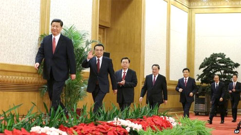 China confirms leadership change