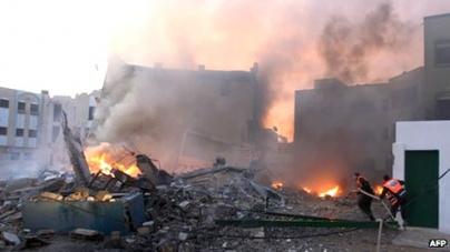Gaza crisis: Israel intensifies aerial attack