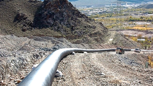 Iran starts building gas pipeline to Syria