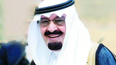 King congratulated for successful surgery