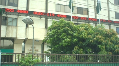 Lahore Stock Exchange gains 6.81 points