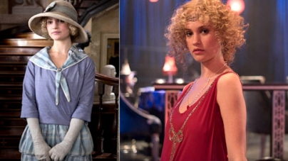 Lily James tipped to be next big British star after debut in season finale