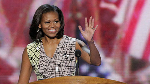 Michelle Obama embraces First Lady role