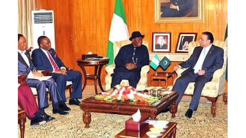 Nigeria hands over D-8 chair to Pakistan