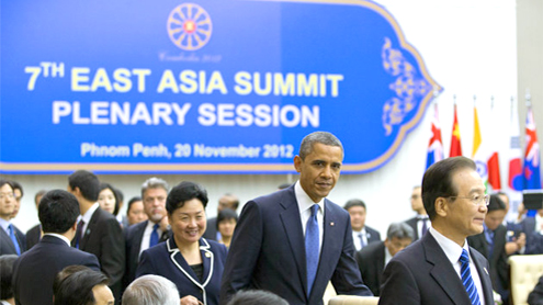 Obama meets China, Japan leaders amid sea tensions