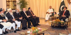 Pakistan' Afghanistan agree to work together for peace in region: PM
