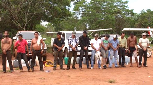 Paraguay seizes 1,700kg of cocaine near Brazil border
