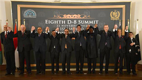 President urges D-8 countries to work for regional development