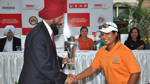 Royal Palm lady golfers do well in Delhi Golf