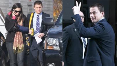 Sexiest Man Alive Channing Tatum returns day job set