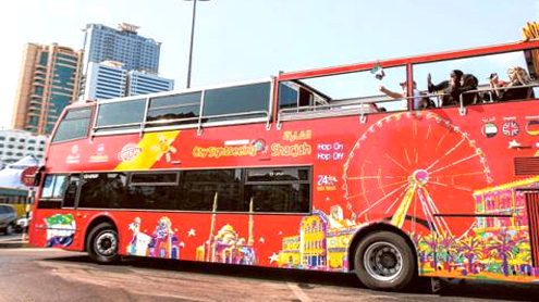 Sharjah sightseeing tour buses launched