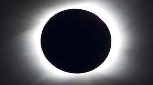 Sky gazers eye heavens for total eclipse