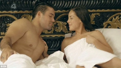 Spencer and Louise share steamy shower scene