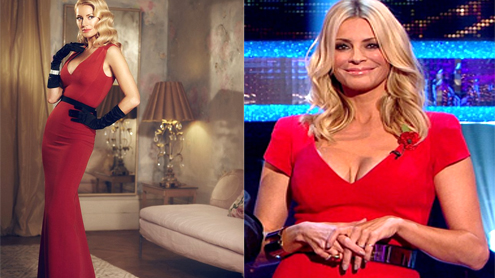 Tess Daly talks about her overexposed cleavage