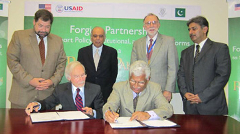 US funds FCC's policy centre to manage Lahore