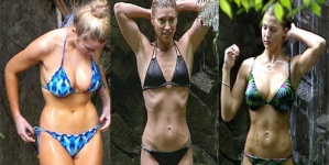 Which jungle bikinis gave the biggest career boost