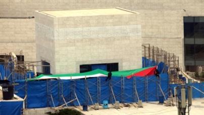 Yasser Arafat's remains exhumed in murder inquiry