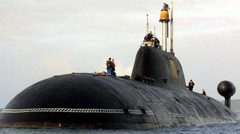 Russian Attack Submarine Hurricane Sandy