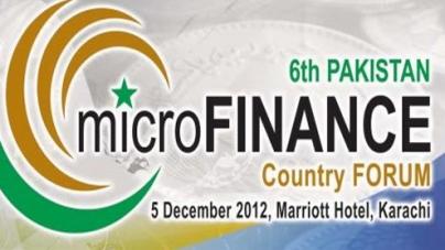 6th Pakistan Microfinance Forum tomorrow