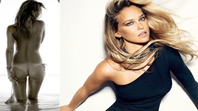 Bar Refaeli posts topless picture on Twitter