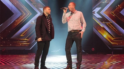 Christopher Maloney prepares for X Factor final duet with Gary Barlow