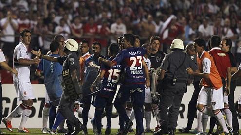 Copa Sudamericana: Row at Tigre and Sao Paulo final