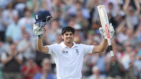 England control India Test