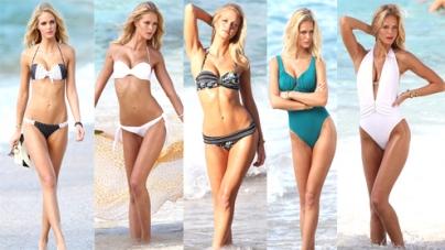 Erin Heatherton sizzles Victorias Secret swimwear