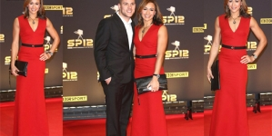 Jessica Ennis' red derriere gets attention at BBC Sports Personality of the Year Awards