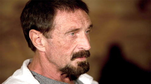 McAfee wants to return to US, 'normal life'