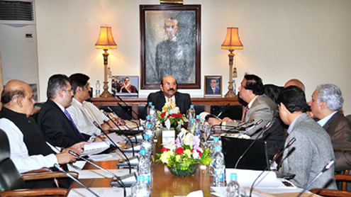 Qaim says 10,000 houses will be allotted to poor