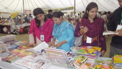 Three-day book fair begins in metropolis