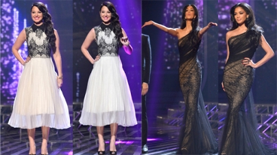 Tulisa loses fashion battle to flawless Nicole Scherzinger on The X Factor