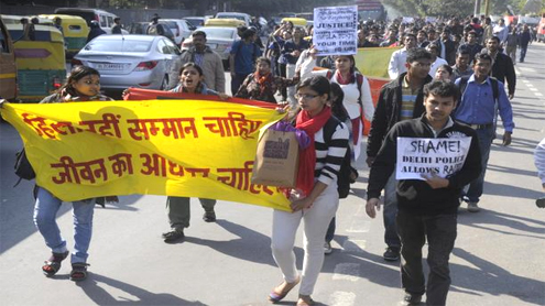 Two admit to gang-rape; anger spills over Delhi streets