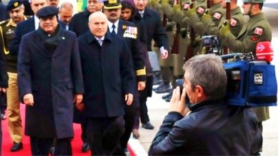 Zardari arrives in Ankara for 7th Trilateral Summit