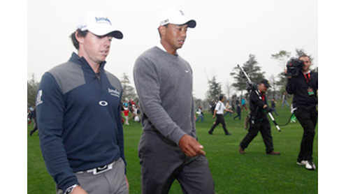Abu Dhabi Golf Championship : McIlroy and Woods set for first clash